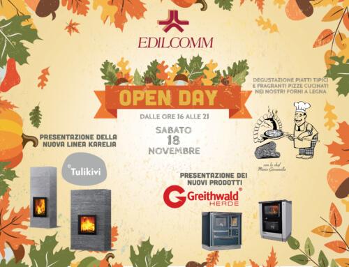 Sabato 18 novembre – OPEN DAY Tulikivi e Greithwald